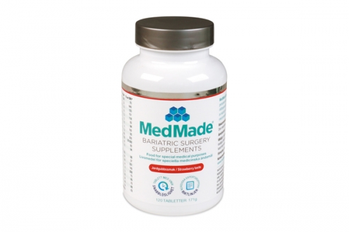 MedMade Bariatric Surgery Supplements Jordgubb, 1-pack i gruppen Handla här / MedMade vitamineraltillskott hos Modifast (879027)