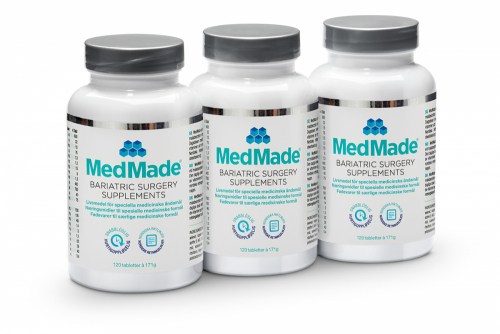 MedMade Bariatric Surgery Supplements, 3-pack i gruppen Handla här / MedMade vitamineraltillskott hos Modifast (881101)