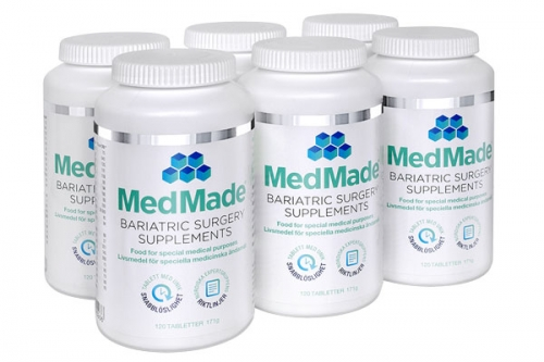 MedMade Bariatric Surgery Supplements, 6-pack i gruppen Handla här / MedMade vitamineraltillskott hos Modifast (881102)