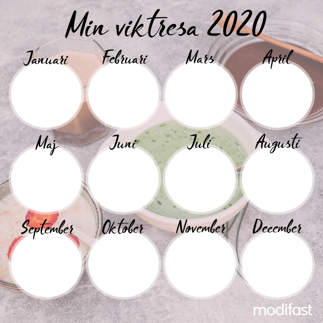 Min viktresa 20 servering jan-dec